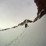 Matthias climbing