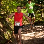 I raced the 5Peaks trail race at Cypress Mountain. Adam Campbell took off in the lead and held it the whole race. (Robshaer.com Photo)