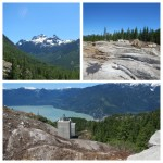 Top station of the new gondola coming to Squamish.