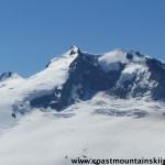 Mt. Garibaldi from Mt. Price. I skied the left hand snow face early this year.