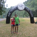 Squamish 50k start line a few minutes before the race.