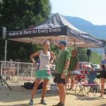 Womens 50 Mile winner - Krissy Moehl. Fast.