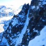 Another attractive ski line on Mt. Rethel.