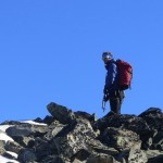 Nick on the summit.
