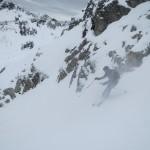 Brad skiing blower coastal powder :)