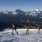 Racing with Brad and Peter at the Lake Louise Ken Jones Classic.