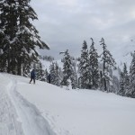 Ski touring with my Dad and Alexis at Mt. Baker. Can't beat a relaxed day with a hot tub at the end!