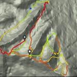 Individual race map.