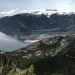 Squamish Chief backside trail.