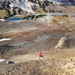 Volcanic landscape in Garibaldi Provincial Park.