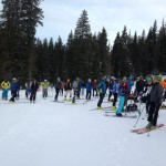 Awesome turnout at the Wasatch Skimo Citizen Race Series on Thanksgiving Day!
