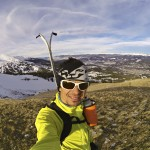 First ski in Breckenridge up to the top of Peak 10 at the resort.