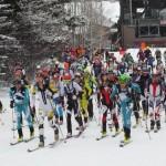 Race Start at Jackson Hole
