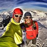 Summit of Snowspider Peak on the Duffy Lake Road