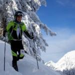 Pascal racing at Torgon SkiAlpi