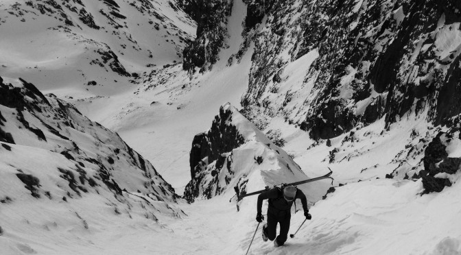 Couloir hunting in Slovakia.
