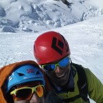 Lars Erik and I on Mt. Blanc.
