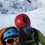 Lars Erik and I on Mt. Blanc.