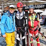 The man Oscar with Nick and I after the Pierra Menta.