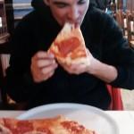 Post Pierra Menta pizza time in Courmayer.