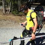 Finishing a Mezzalama training day in the sun w/ Pascal.
