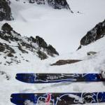 Steep skiing!