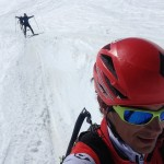 Skimo day on the Vallee Blanche with Paul and Lars Erik.