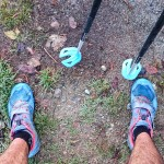 Head between the knees kind of intervals this time of year. 3x11 minutes L4 uphill with poles.