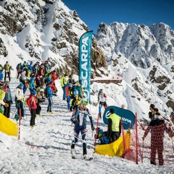 Les Marecottes Alpiniski World Cup Individual Race. ISMF Photo.