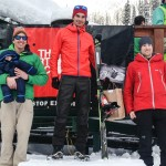 Fischer skis on the podium at ROAM Randonne Rally!