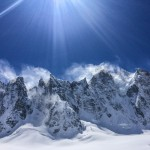 Argentiere Basin - one of the most amazing collections of steep ski lines anywhere I've ever seen.