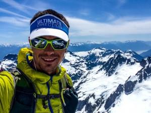 Summit of Serratus in the Tantalus Range!