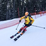Great to see Alexis with skis and a bib on again!
