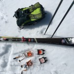 Sweet gear - Fischer skis, UD Pack, Petzl Crampons.