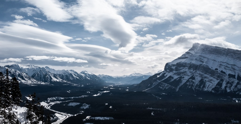Banff from Cascade Mountain.